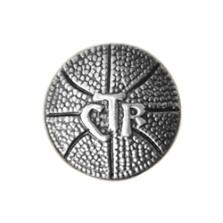 CTR Sport Basketball Tie Pin