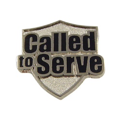 Called To Serve Tie Tack