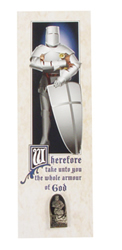Armor of God Tie Tack and Bookmark