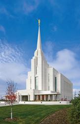 Rexburg Idaho Temple - Print