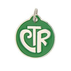 CTR Circle Keychain - LDP-PTG01