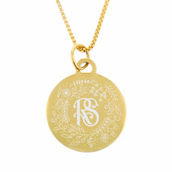 Gold Relief Society Necklace - Christmas Project