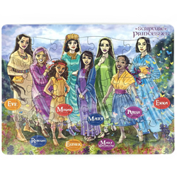 Scripture Princesses Children's Frame Puzzle