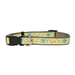 Tan CTR Pet Collar - LDP-PCR40