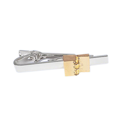 Golden Plates Tie Clip