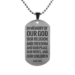 Title of Liberty Dog Tag - LDP-DTG15190-SLV