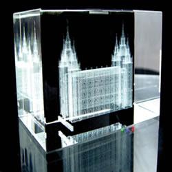 Salt Lake City Temple Cube