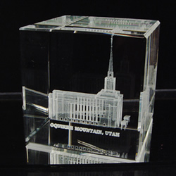 Oquirrh Mountain Temple Cube