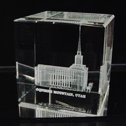 Oquirrh Mountain Temple Cube