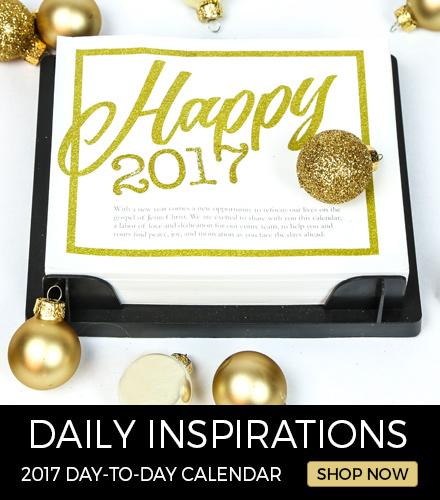 LDS Daily Inspirations 2017 Calendar!