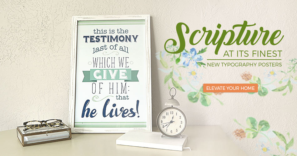 LDS Printable Posters | Easter