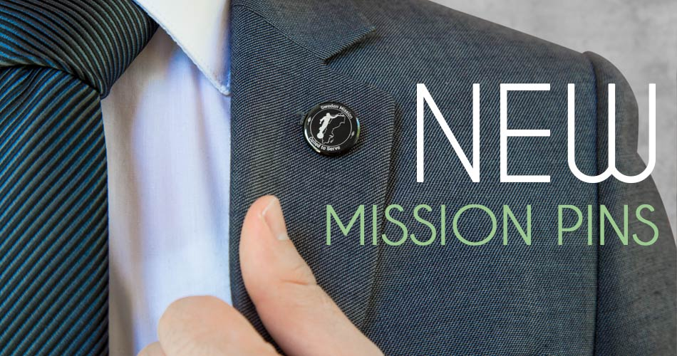 LDS Mission Pins