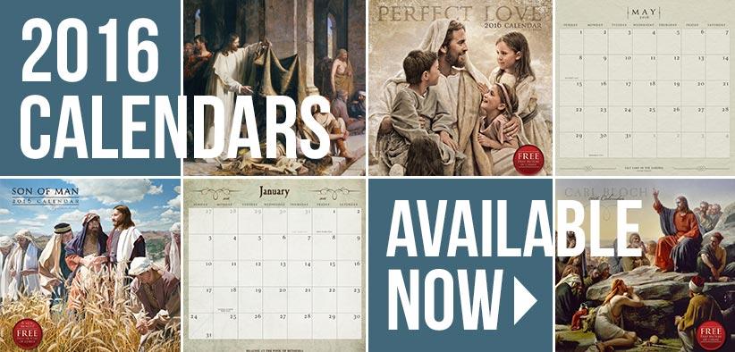 2016 LDS Calendars
