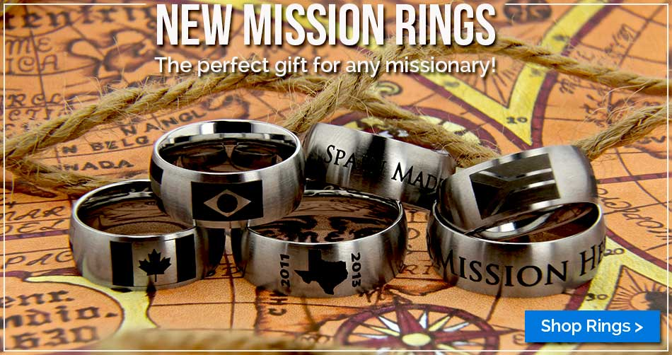 LDS Mission Rings