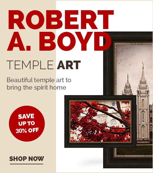 Robert A. Boyd Temple Art