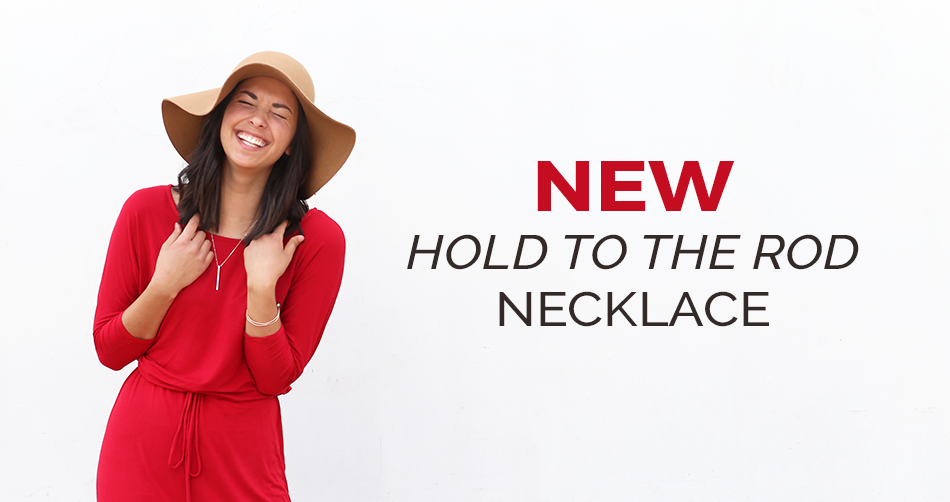 New Hold to the Rod Necklace!