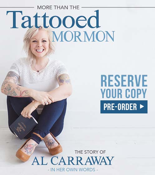 More Than a Tattooed Mormon - Al Fox Presale Book