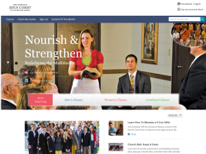 Nourish & Strengthen Website
