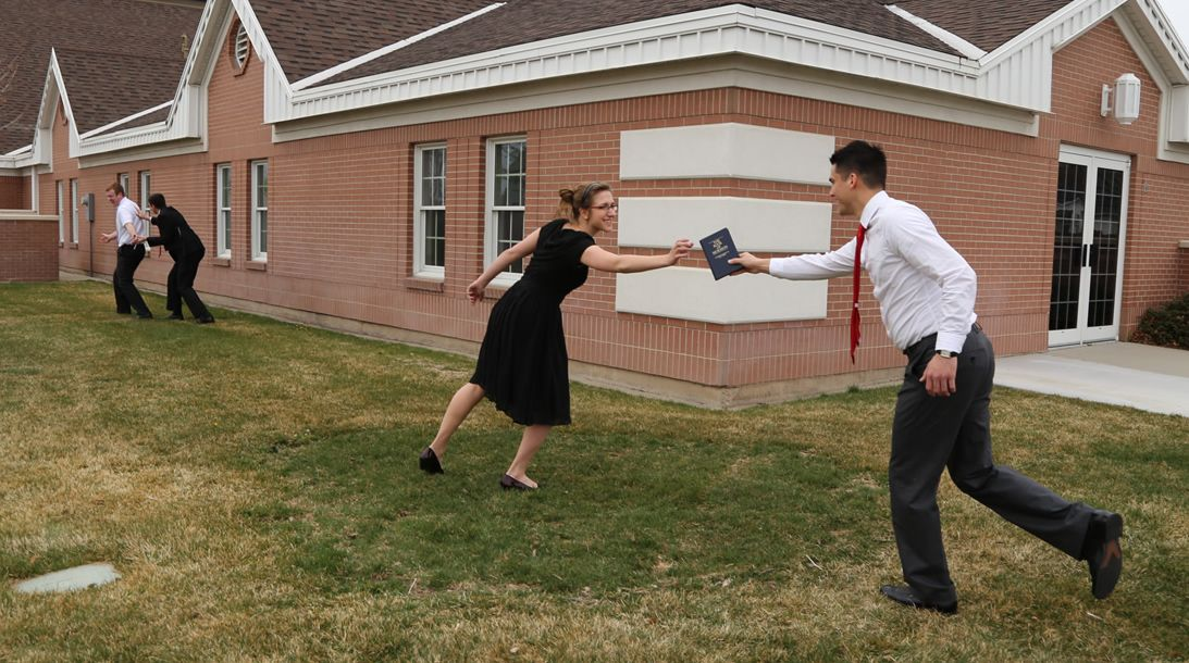Conducting a Book of Mormon speed delivery assessment.
