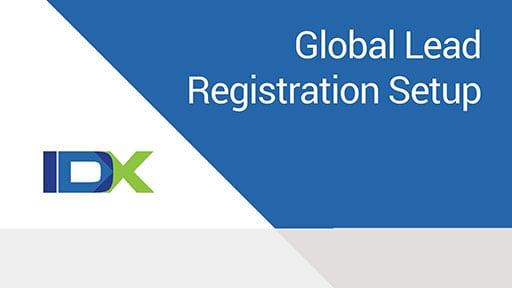 Global Lead Registration