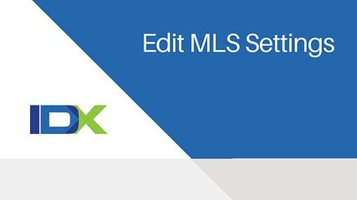 MLS Settings