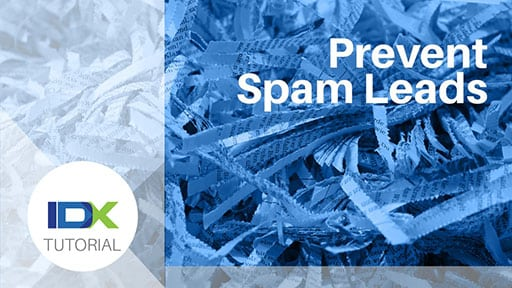 Prevent Spam Leads