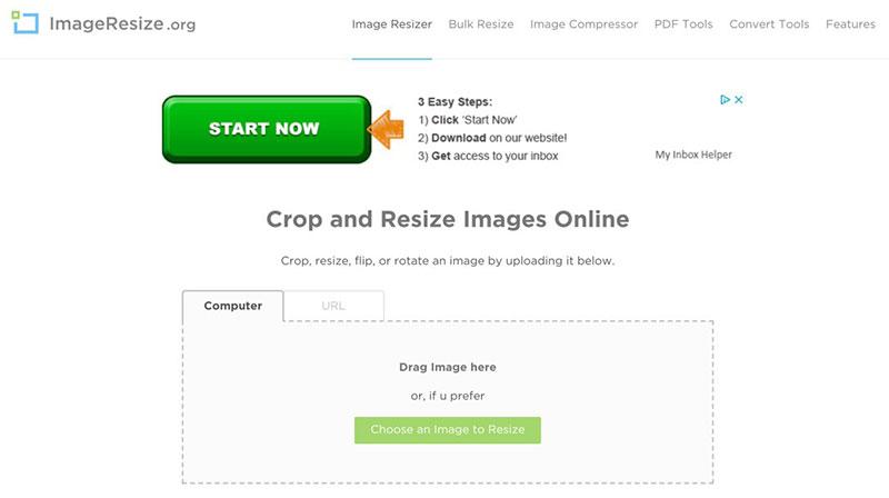ImageResize.org image optimization