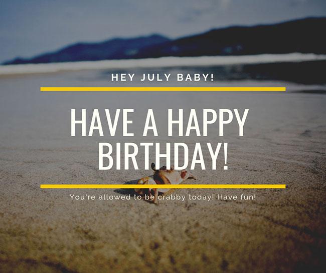 Canva happy birthday template