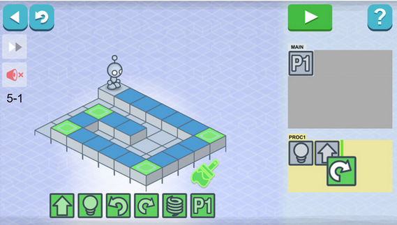learn coding with lightbot