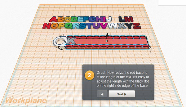 learn 3D modelling with tinkercad