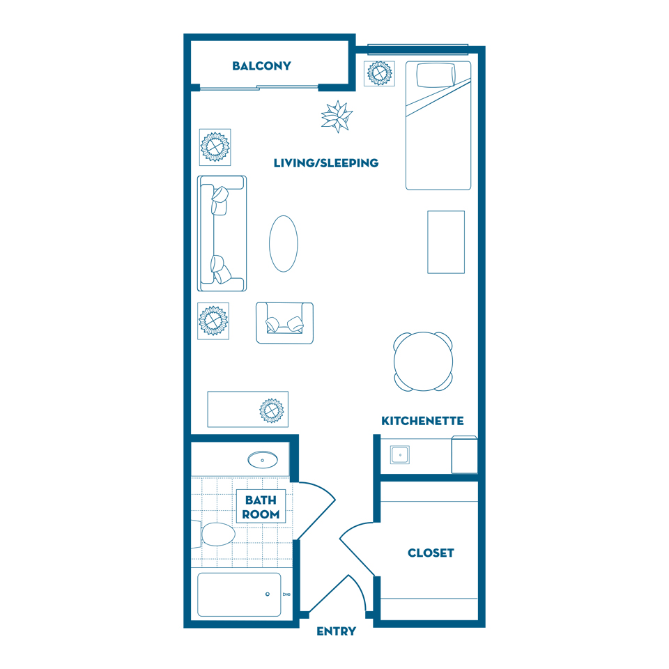NewportBeach_FloorPlan_DeluxeStudio_400 450SqFt_Lightbox