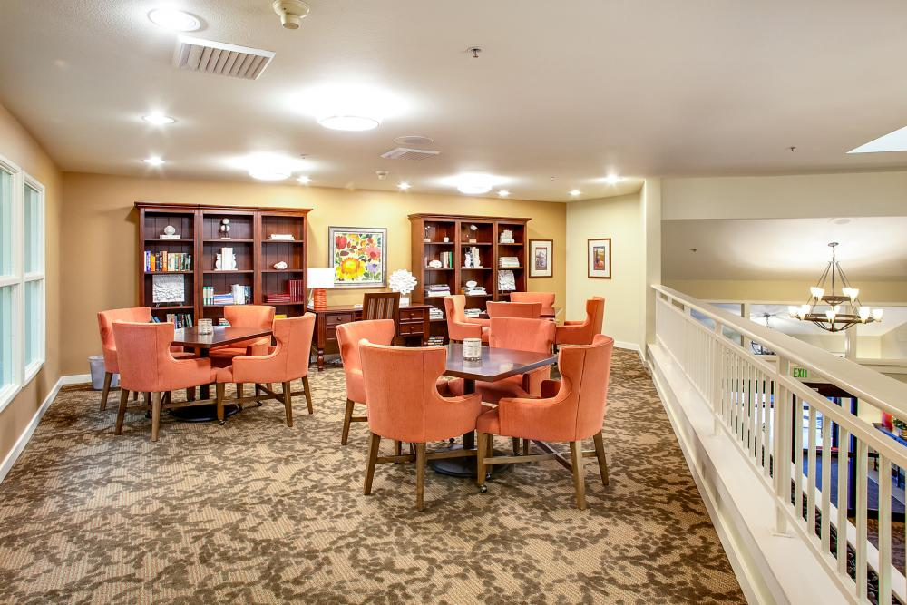 Library - Canfield Place Retirement Community