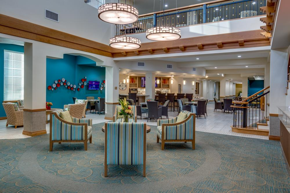Lobby - Fairwinds - Ivey Ranch Retirement Community