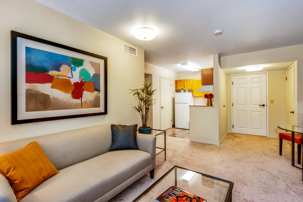 Living Room - Fairwinds - Rio Rancho Senior Apartments