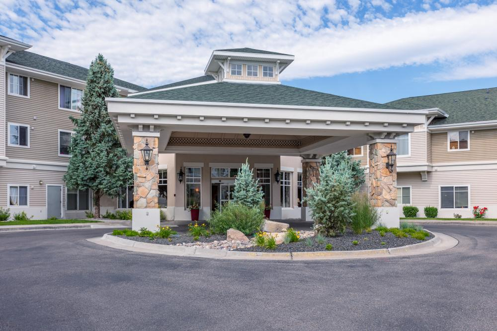 Entrance - Fairwinds - Sand Creek Retirement Community