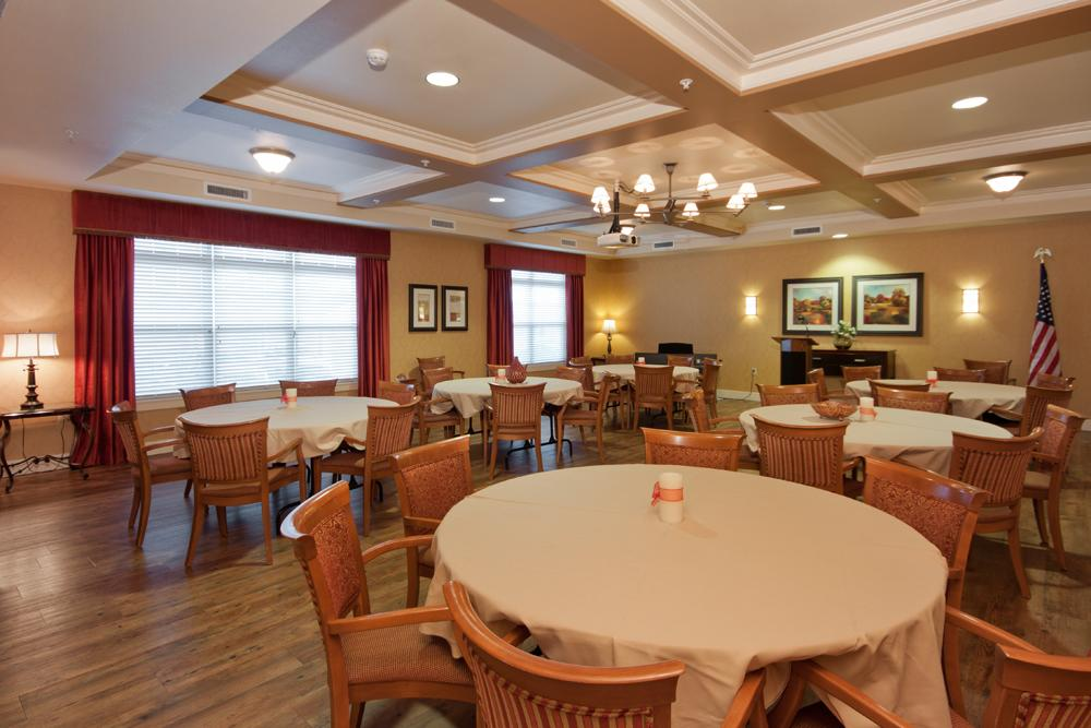 Ballroom - MacKenzie Place Retirement Community Colorado Springs