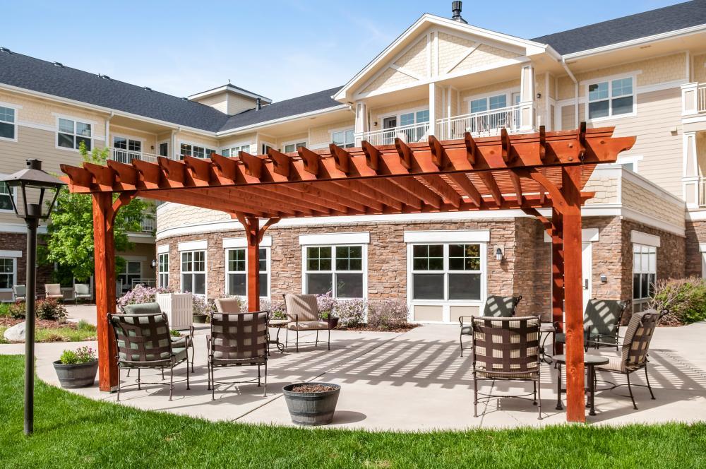 Patio   MacKenzie Place Retirement Community Fort Collins