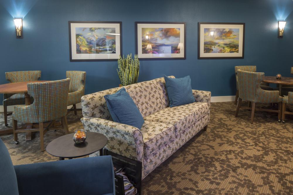 Common Room - Markham House Senior Living