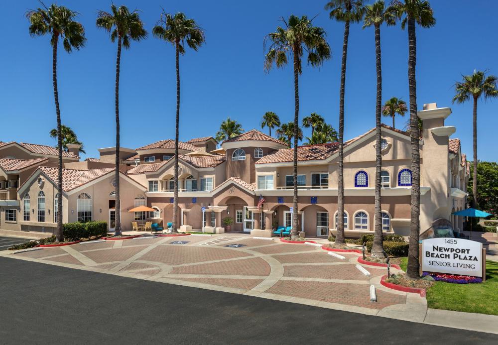 Superb Exterior View Newport Beach Plaza Retirement CommunitySenior Living In Newport  Beach CA Newport Beach Plaza