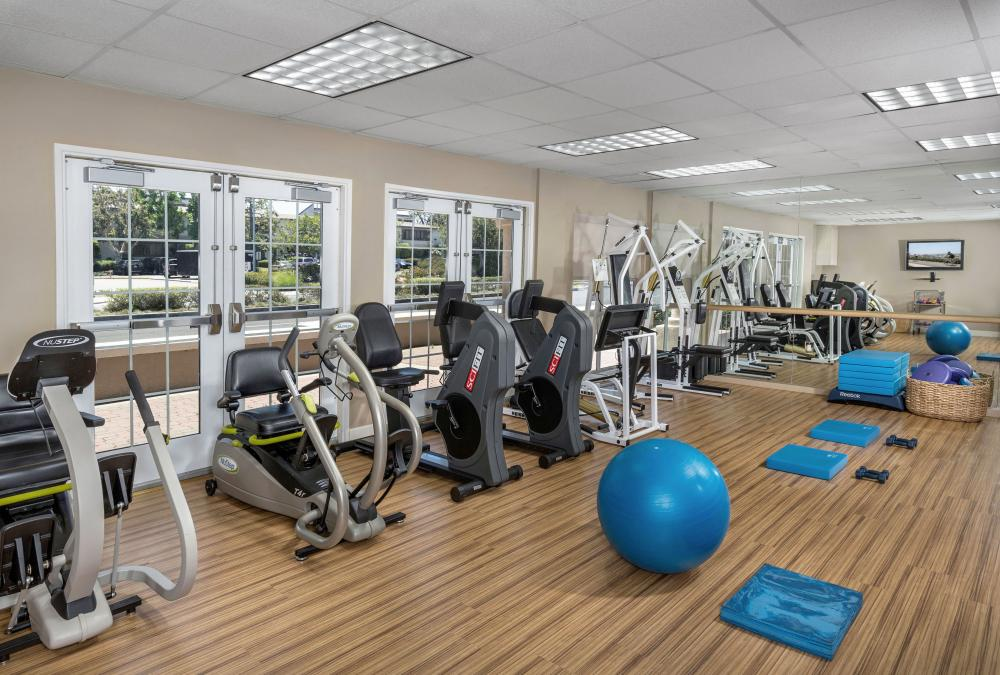 Senior living in newport beach ca newport beach plaza Living room gym