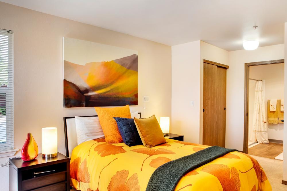 Bedroom - Springfield Place Senior Apartments