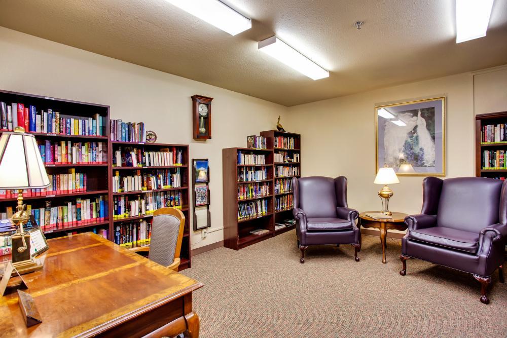 Library - Van Mall Retirement Community