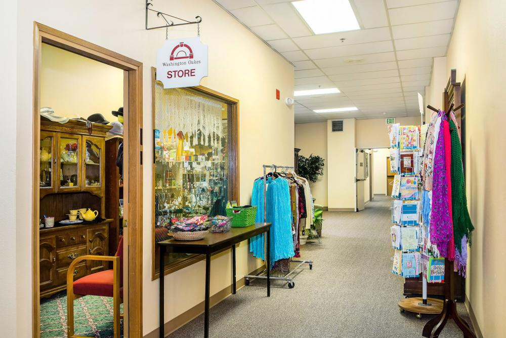 Gift Shop - Washington Oakes Retirement Community