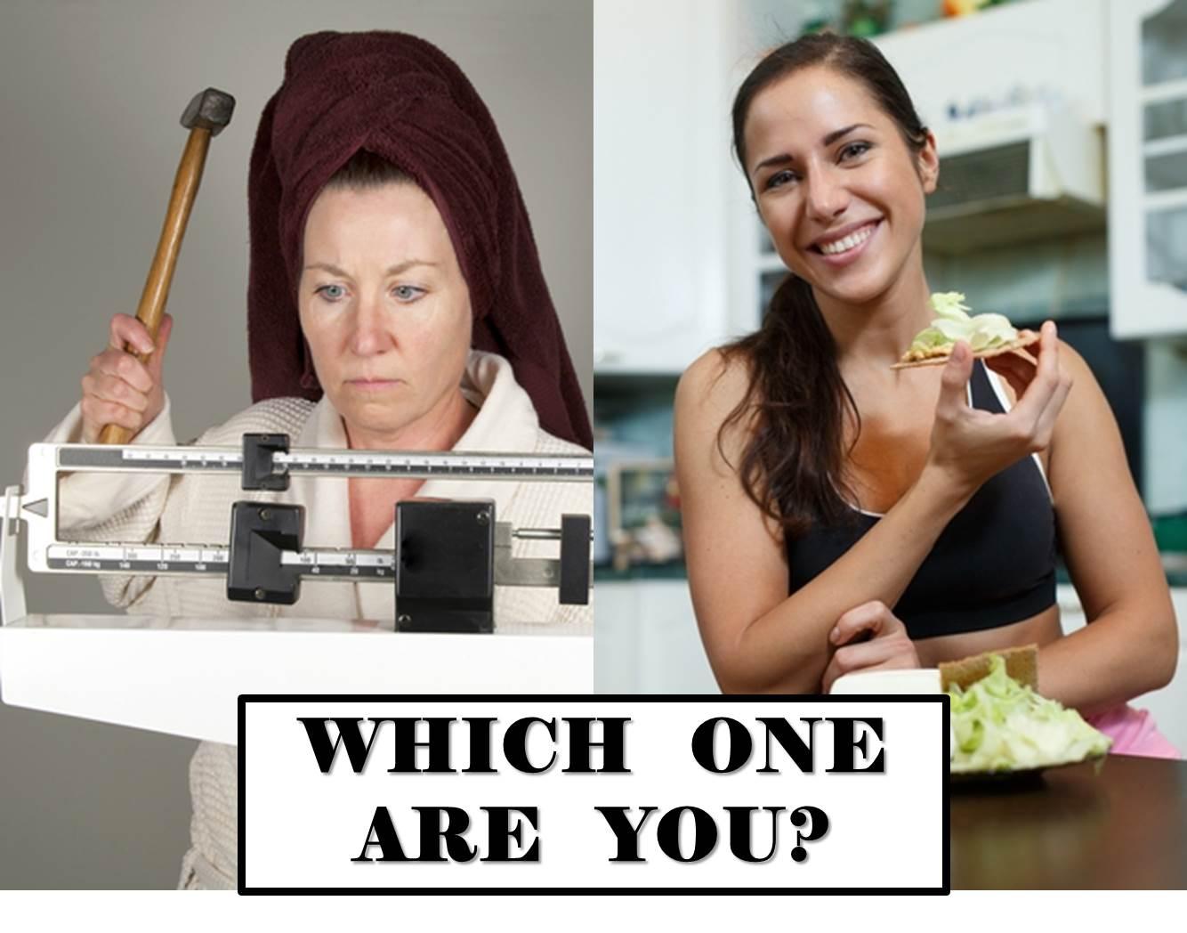 Diet vs. Fit-Minded