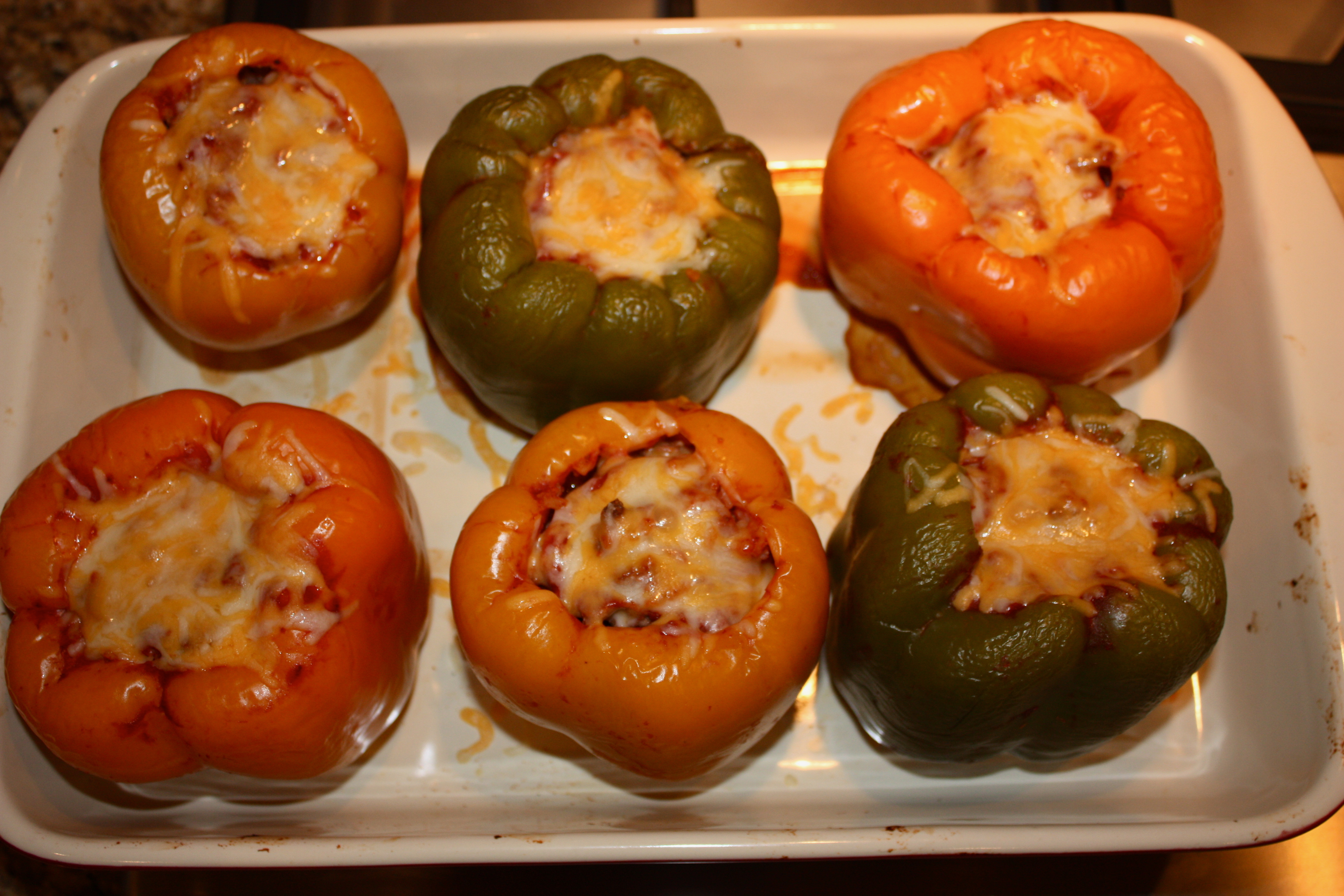Finished Bell Pepper Recipe
