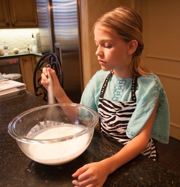 Hannah mixing