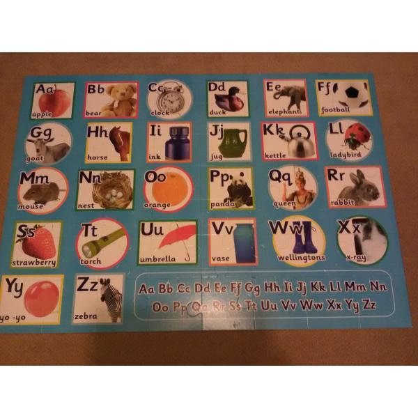 Borrow Elc Giant 56 Piece Alphabet Floor Puzzle