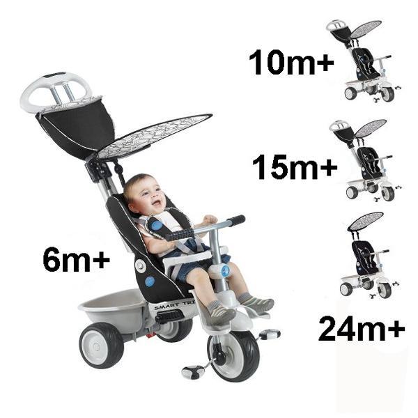 Borrow Smarttrike Recliner Stroller 4 In 1 Black Trike