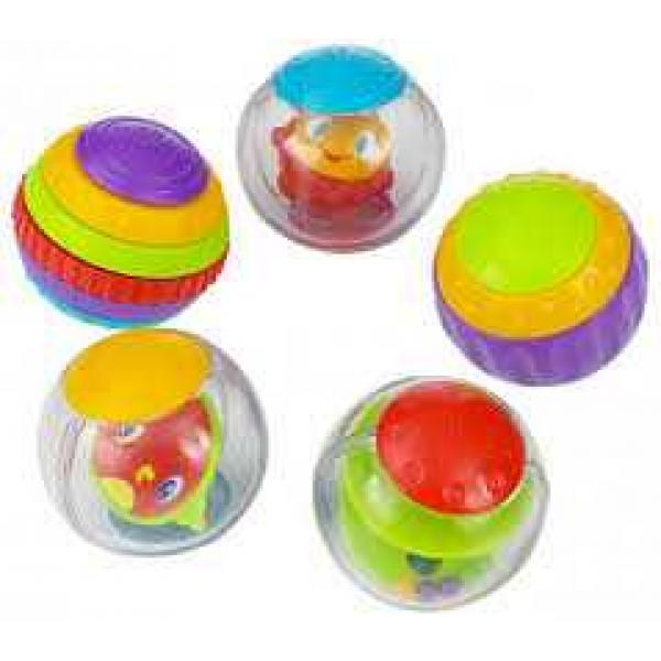 Bright Starts Shake Spin Activity Balls Five different activity balls baby toy