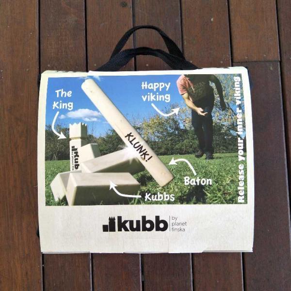 Borrow Kubb Outdoor Game